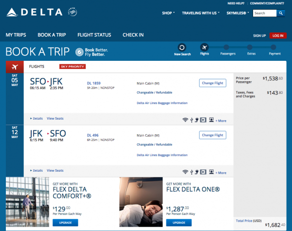 Delta Travel Insurance - $1,682 Refundable | AARDY.com