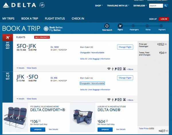 Delta Travel Insurance - $407 Economy Seat | AARDY.com