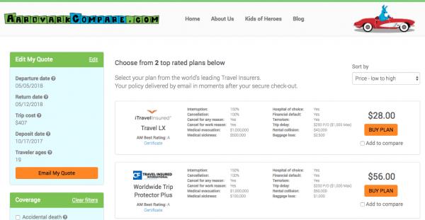 Delta Travel Insurance - Cancel for Any Reason | AardvarkCompare.com