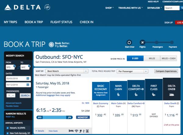 Delta Travel Insurance - Economy Options | AardvarkCompare.com