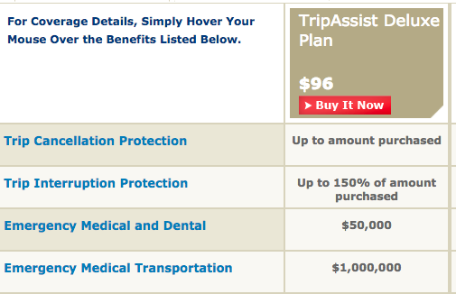 AAA Travel Insurance - Deluxe | AARDY.com