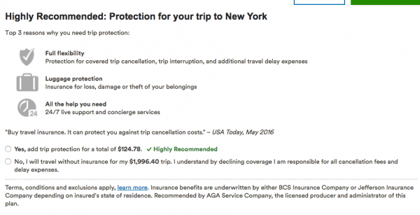 Alaska Airlines Travel Insurance - $125 | AARDY.com