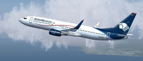 AeroMexico Travel Insurance 737-800 |AARDY.com