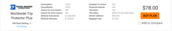Air Canada Travel Insurance AARDY Cancel for Any Reason