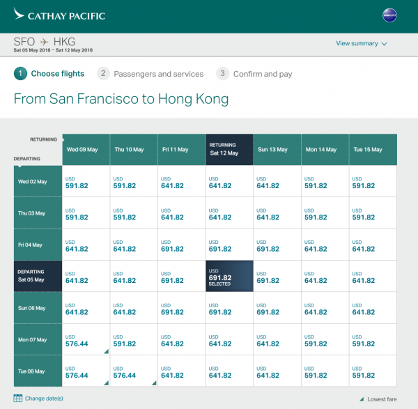 Cathay Pacific Travel Insurance - Flight Grid | AARDY.com