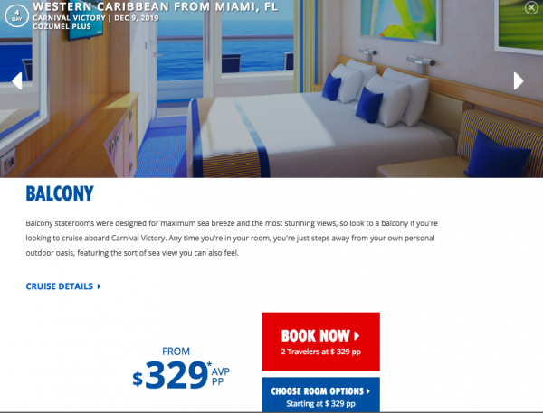 Carnival Cruise Travel Insurance - $329 Plus Taxes | AARDY.com