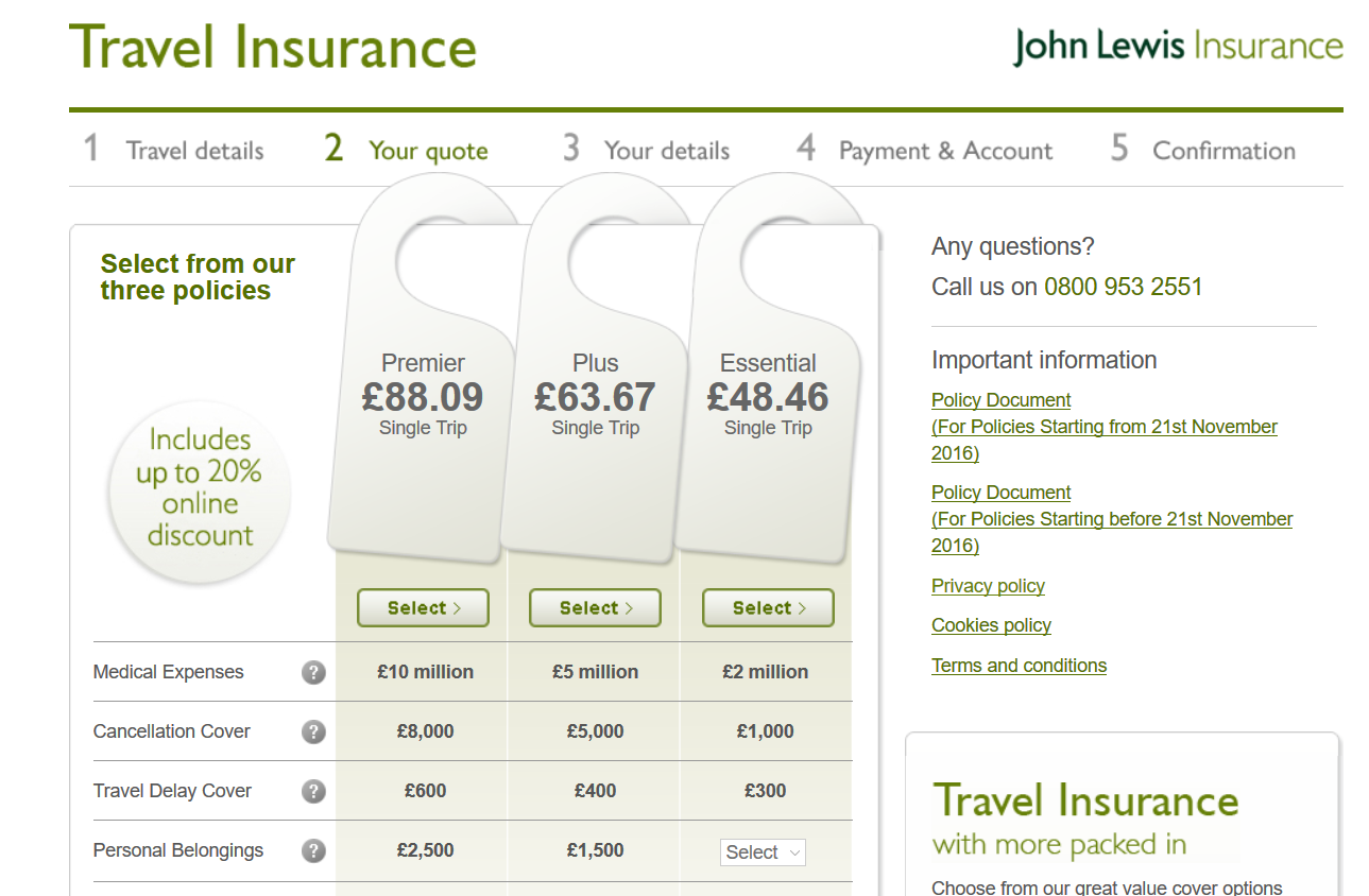 John-Lewis-Travel-Insurance Comparison | AardvarkCompare.com