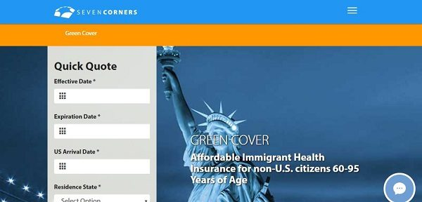 Seven-Corners-Green-Cover-Senior-Travel-Medical-Insurance | AARDY.com