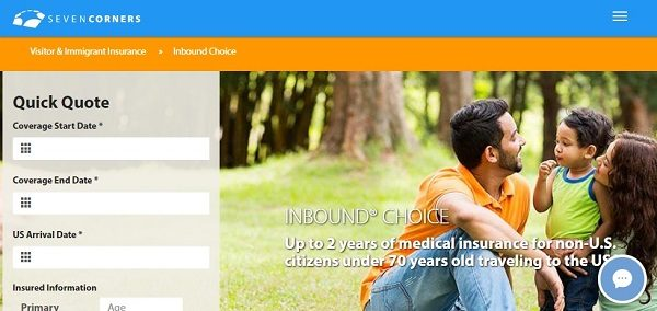 Seven-Corners-Inbound-Choice-Travel-Medical-Insurance | AARDY.com