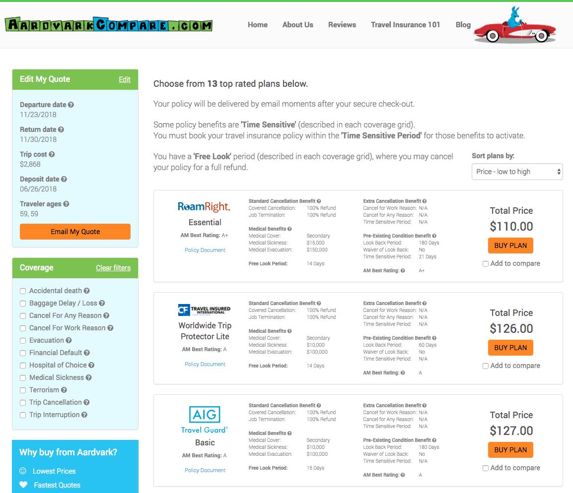 Royal-Caribbean-Travel-Insurance-AardvarkCompare-LowCost-Options | AardvarkCompare.com