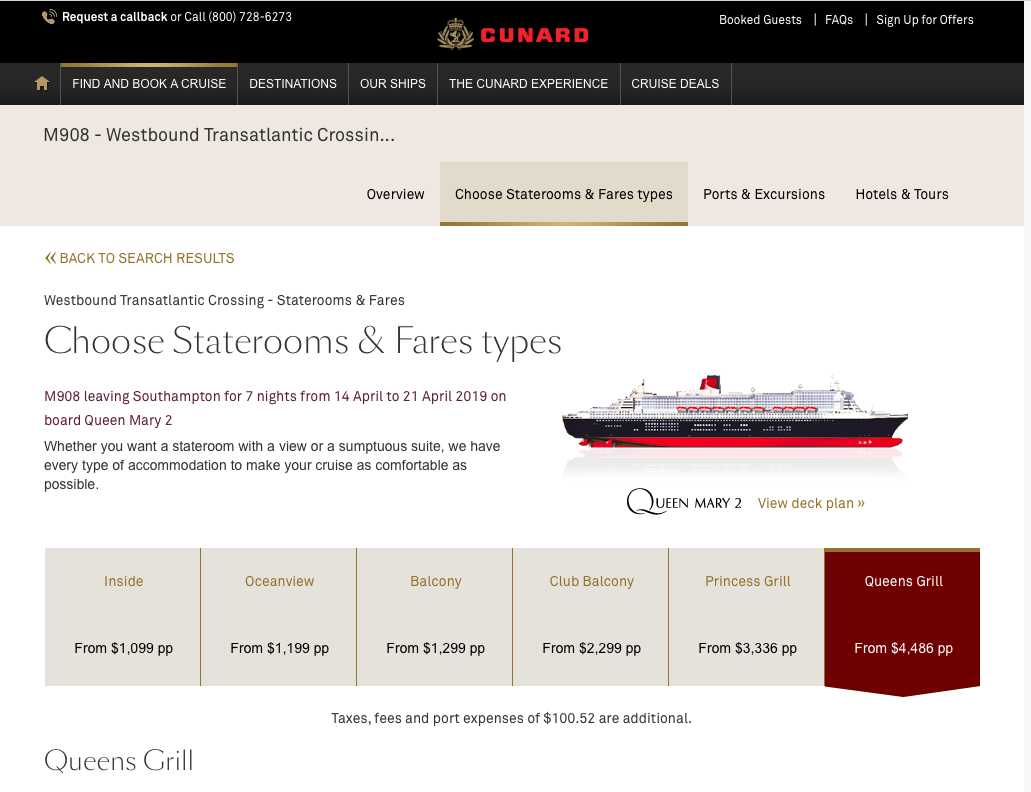 Cunard-Cruise-Line-Travel-Insurance-Queens-Grill | AARDY.com