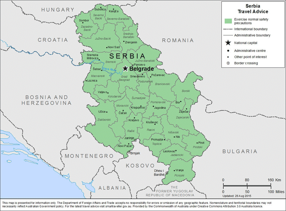 Serbia -Travel-Insurance | AARDY.com