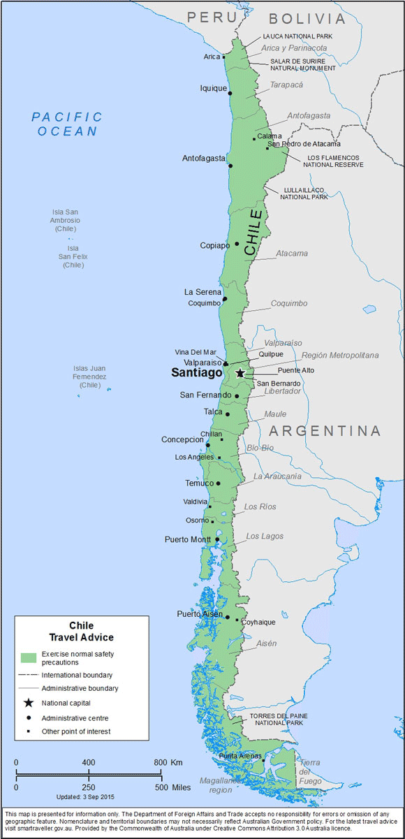 Chile-Travel-Insurance | AARDY.com