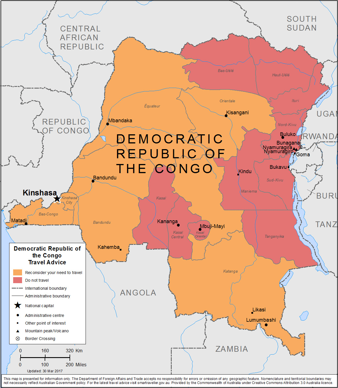 Democratic Republic of The Congo-Travel-Insurance | AARDY.com