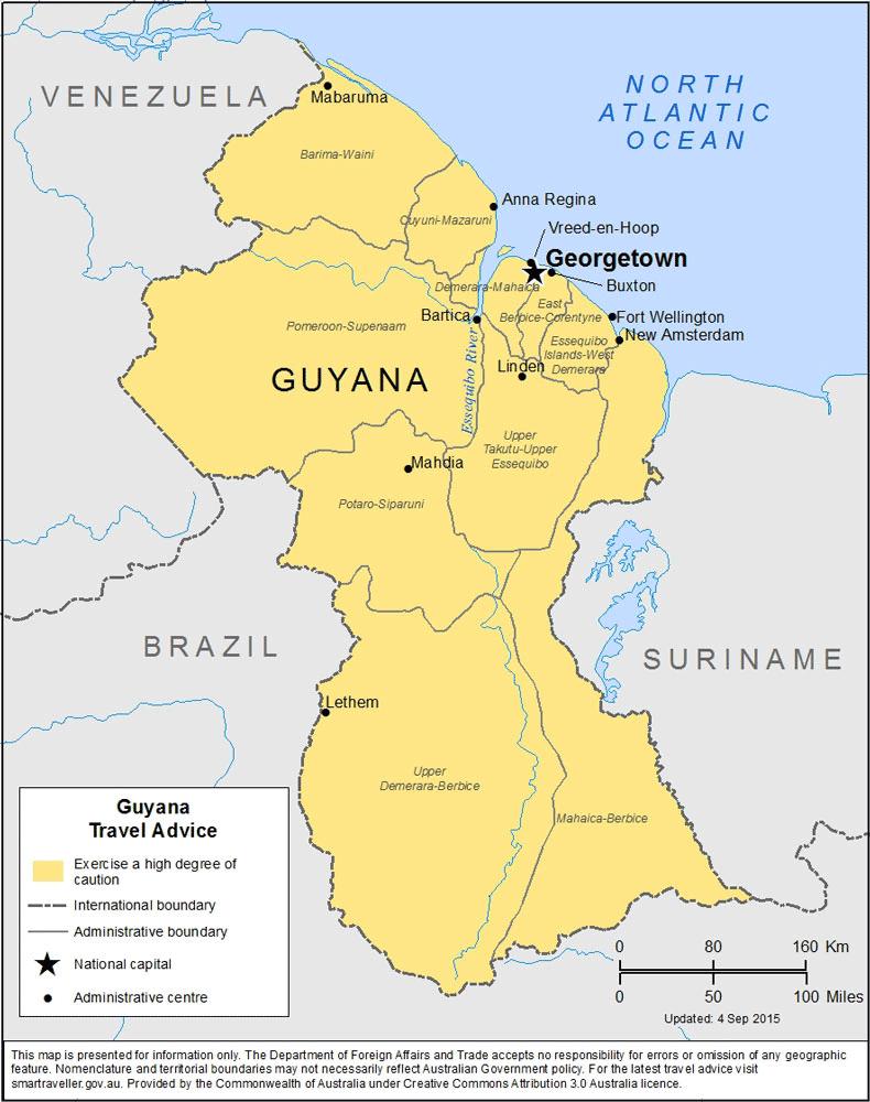Guyana-Travel-Insurance | AARDY.com
