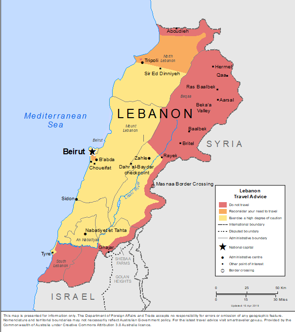 Lebanon-Travel-Insurance | AARDY.com