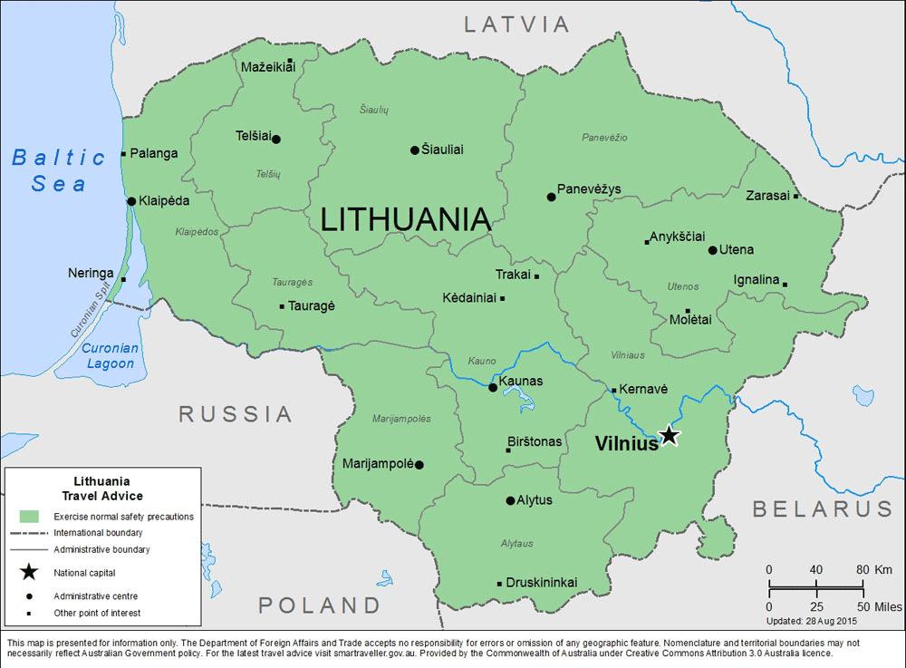 Lithuania-Travel-Insurance | AARDY.com
