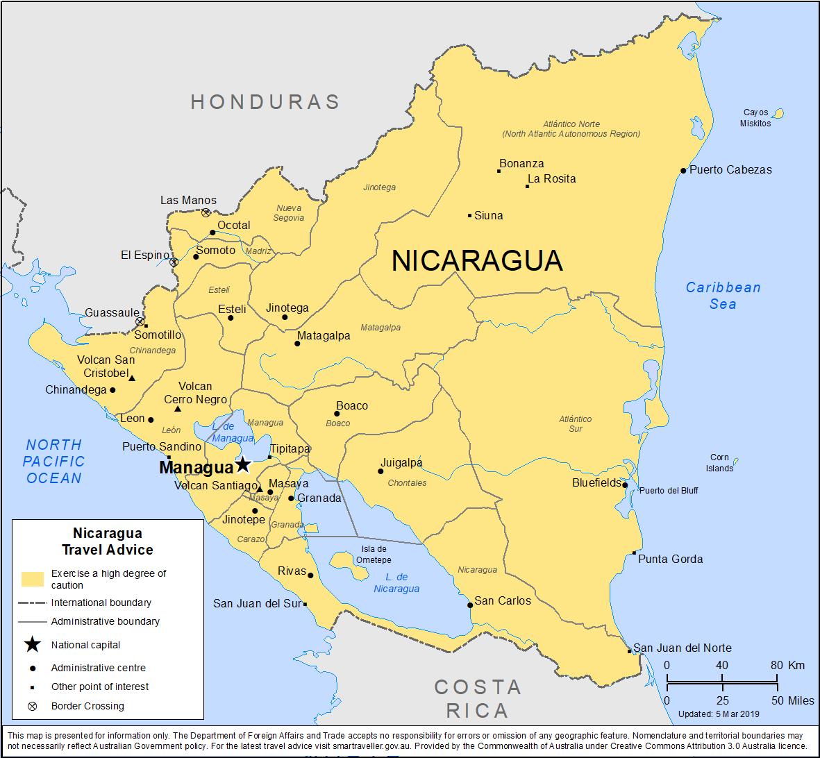 Nicaragua-Travel-Insurance | AARDY.com