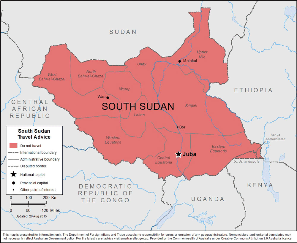 South Sudan-Travel-Insurance | AARDY.com