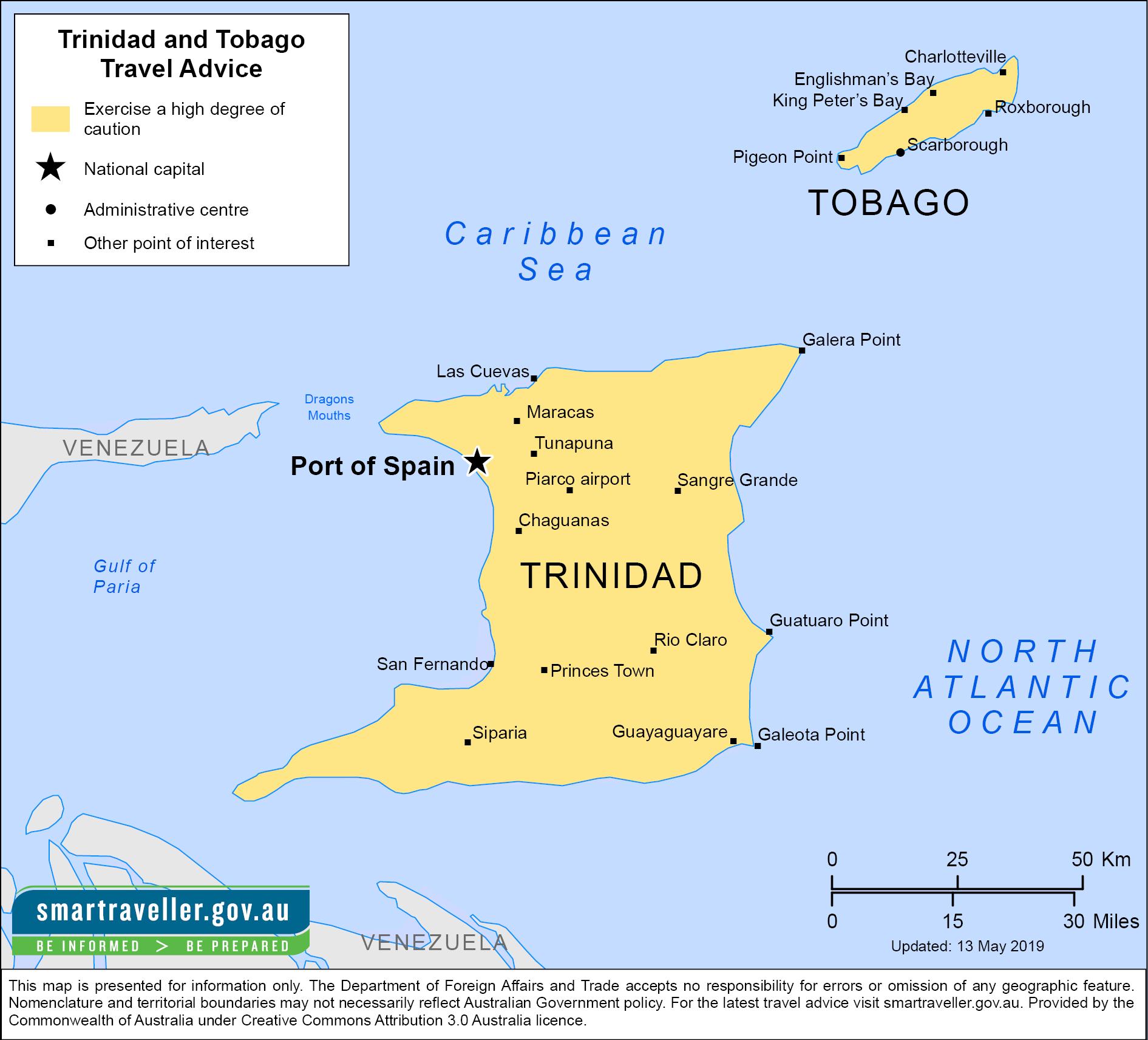Trinidad and Tobago-Travel-Insurance | AARDY.com