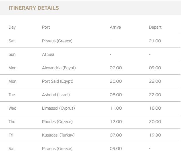 Celestyal-Cruises-Itinerary3 | AardvarkCompare.com