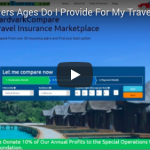 What Travelers Ages Do I Provide For My Travel Insurance?