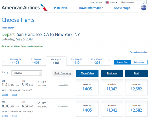 American Airlines Travel Insurance - Non-Refundable Options | AardvarkCompare.com