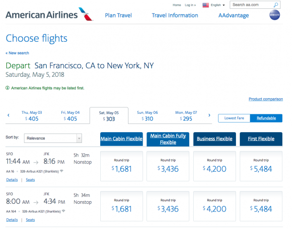 American Airlines Travel Insurance - Refundable Options | AardvarkCompare.com