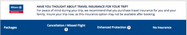 Air France Travel Insurance Stupid Question