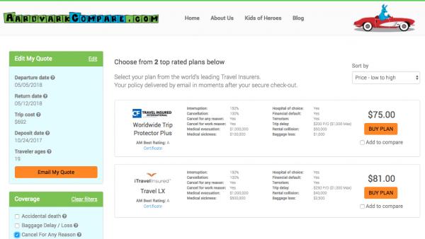 Cathay Pacific Travel Insurance - Cancel for Any Reason | AardvarkCompare.com