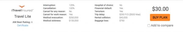 Cathay Pacific Travel Insurance - iTI Lite | AardvarkCompare.com