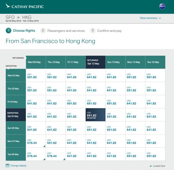 Cathay Pacific Travel Insurance - Flight Grid | AardvarkCompare.com