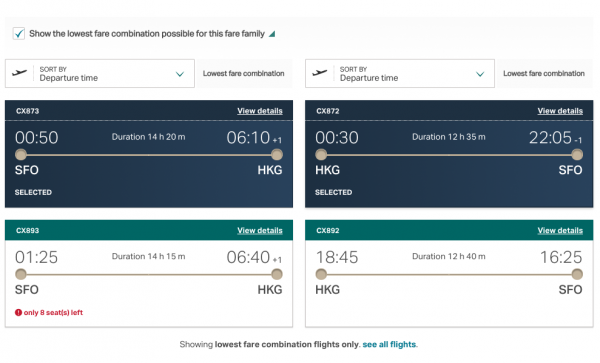 Cathay Pacific Travel Insurance - Lowest Fare $692 | AardvarkCompare.com
