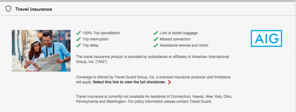 Emirates Travel Insurance AIG - Not available in CT, HI, New York, OH, PY, WA | AardvarkCompare.com