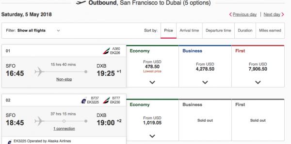 Emirates Travel Insurance $478 - $7,906 | AardvarkCompare.com