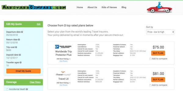 Air China Travel Insurance Cancel for Any Reason | AardvarkCompare.com