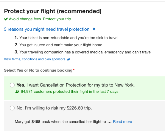 Expedia-Flight-Insurance-Domestic   AardvarkCompare.com