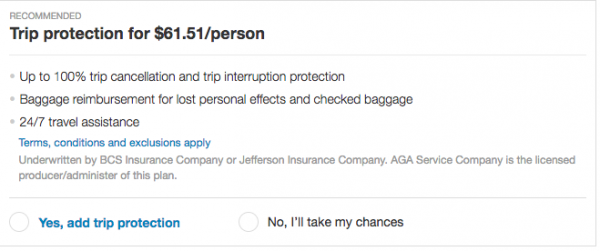 Priceline Travel Insurance - International $62 | AardvarkCompare.com