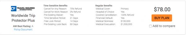 Allianz Travel Insurance Review - TII Worldwide Trip Protector Plus | AardvarkCompare.com
