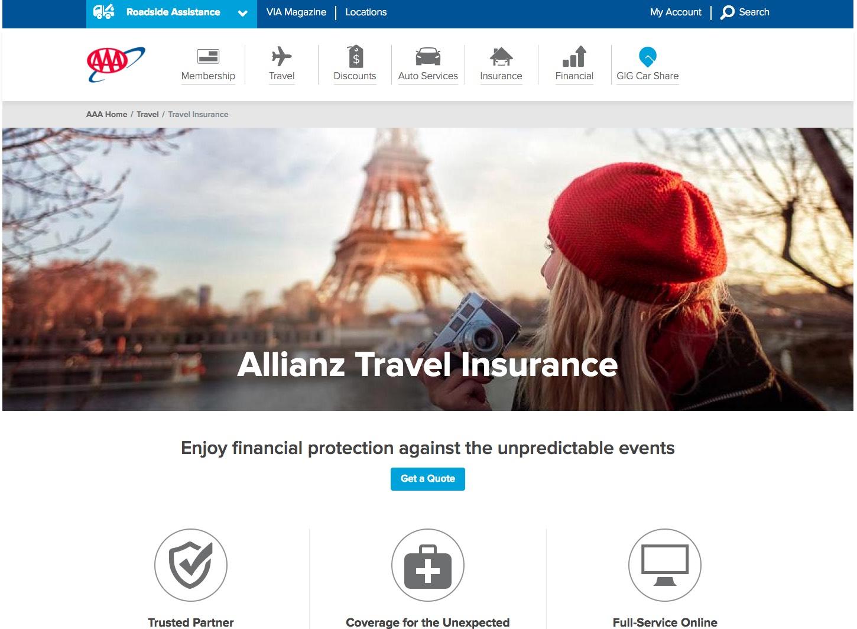 AARP Travel Insurance - AAA Comparison | AardvarkCompare.com