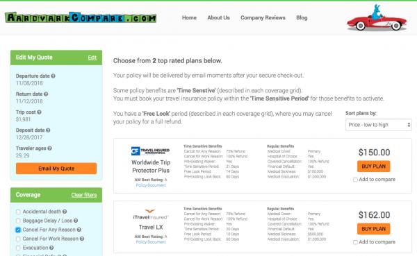 Disney Cruise Travel Insurance - Cancel for Any Reason Options | AardvarkCompare.com