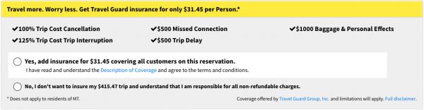 Spirit Travel Insurance - $32 International Travel Guard Option | AardvarkCompare.com