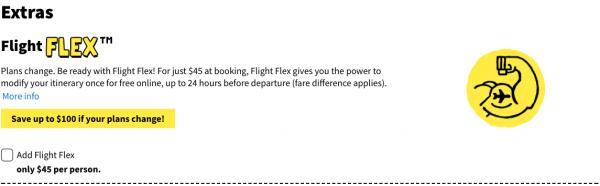 Spirit Travel Insurance - Flight Flex $45 | AardvarkCompare.com