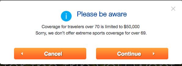 United Healthcare Travel Insurance - No Extreme Sports | AardvarkCompare.com