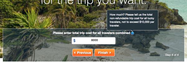 United Healthcare Travel Insurance - Step 4 - Trip Cost | AardvarkCompare.com
