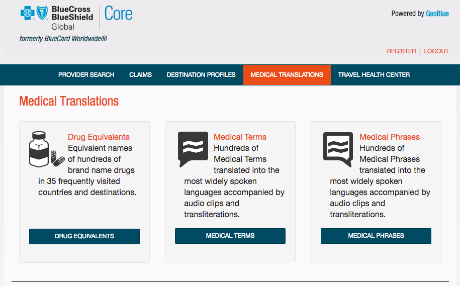 Blue-Cross-Travel-Insurance-Medical-Translations | AardvarkCompare.com