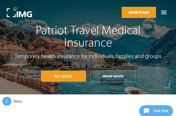 Patriot-Travel-Medical-Insurance-IMG | AardvarkCompare.com