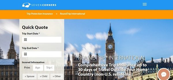 Seven Corners RoundTrip International Travel Insurance ...