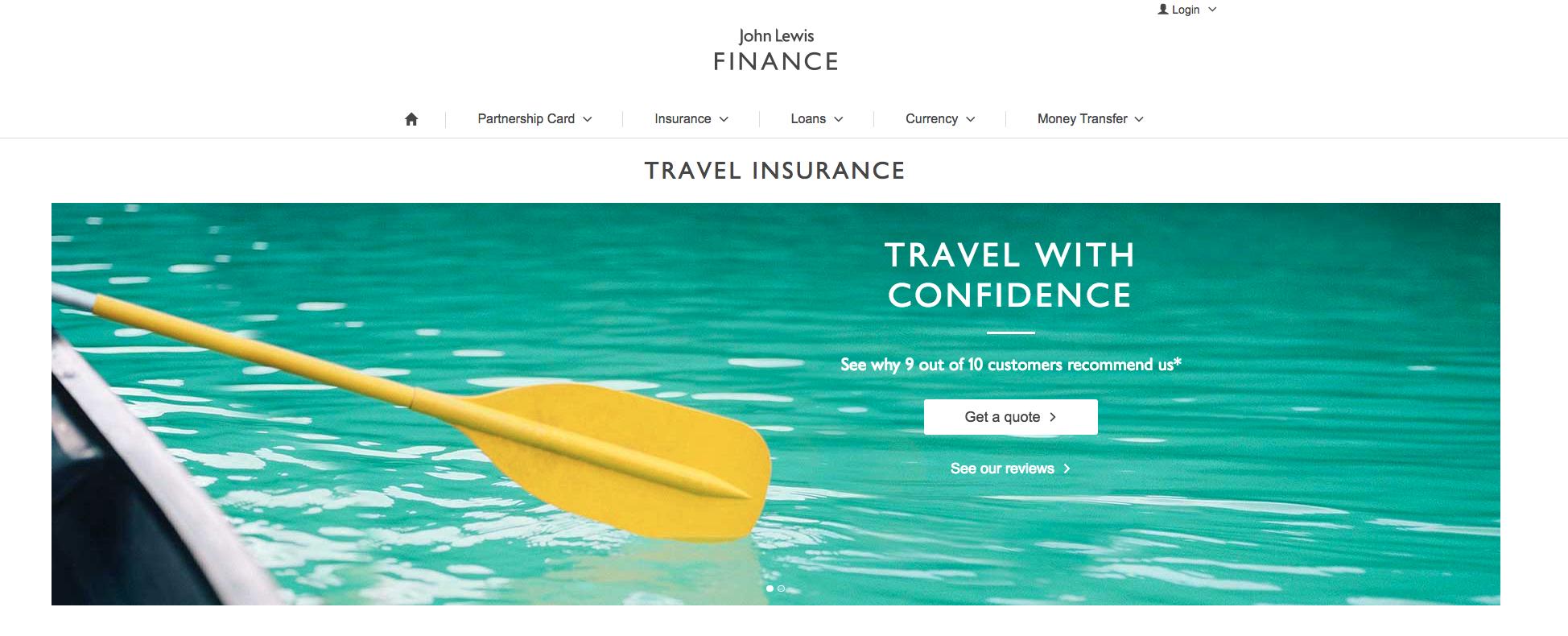 John-Lewis-Travel-Insurance | AardvarkCompare.com