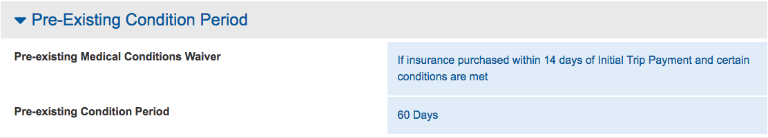 Expedia-CruiseShipCenter-Travel-Insurance-Pre-Existing-Medical-Condition-Exclusion-Waiver | AardvarkCompare.com